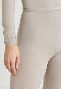 Schiesser - PERSONAL FIT LEGGINGS - Pyjamasbukse - braun - 4