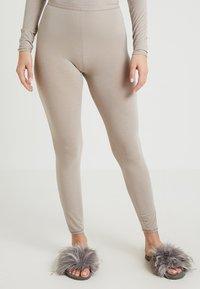 Schiesser - PERSONAL FIT LEGGINGS - Pyjamasbukse - braun - 0