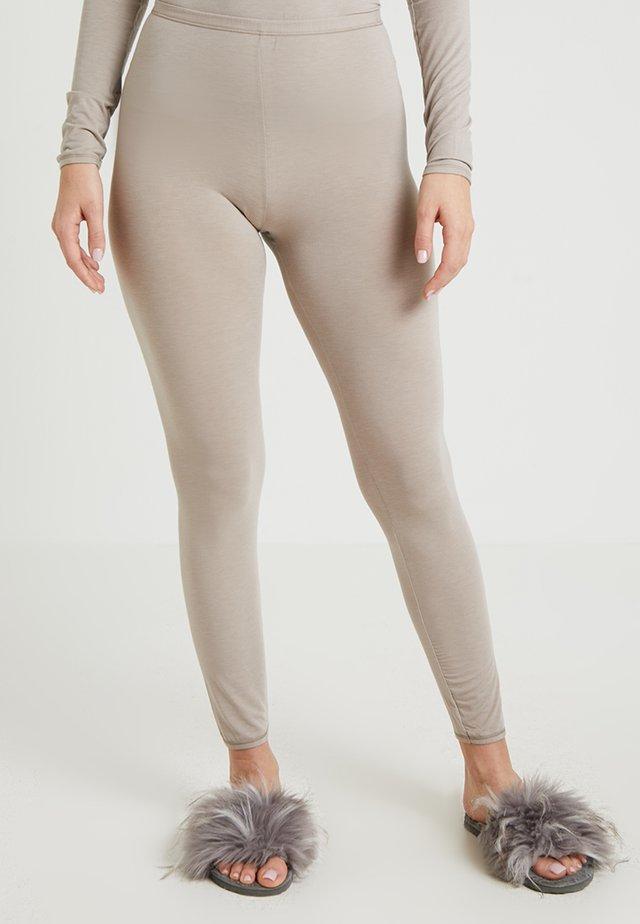 PERSONAL FIT LEGGINGS - Pantalón de pijama - braun