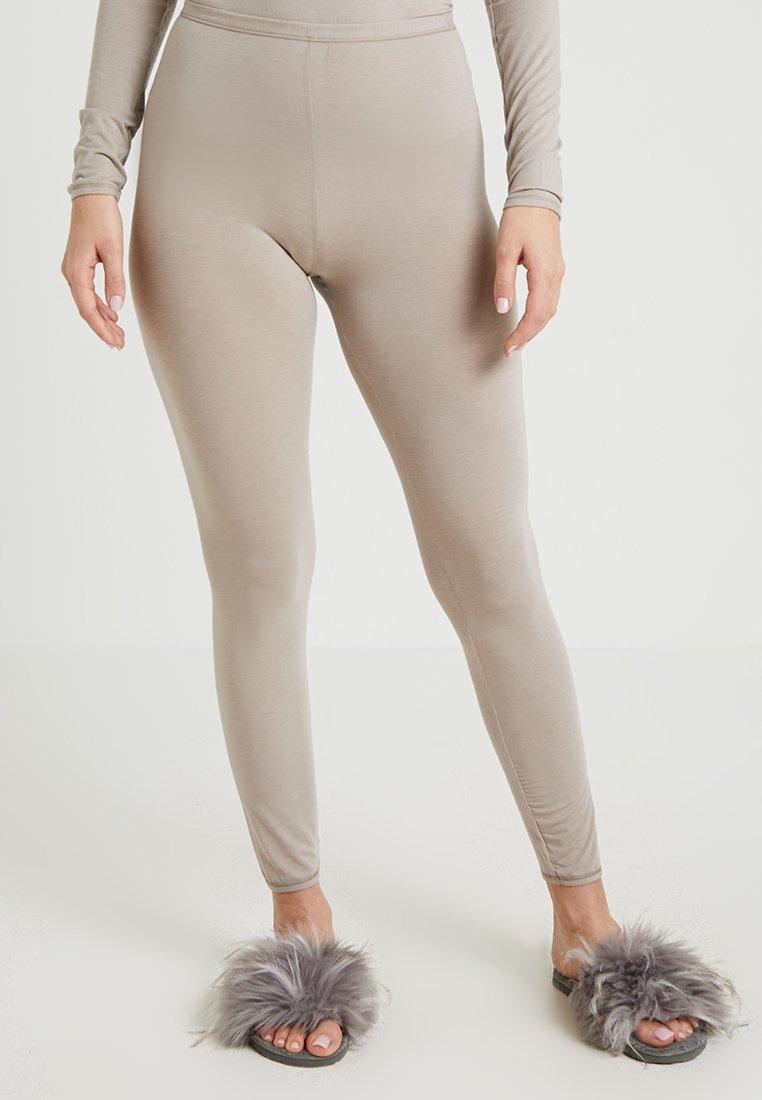 Schiesser - PERSONAL FIT LEGGINGS - Pyjamasbukse - braun