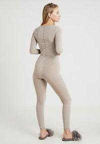 Schiesser - PERSONAL FIT LEGGINGS - Pyjamasbukse - braun - 2