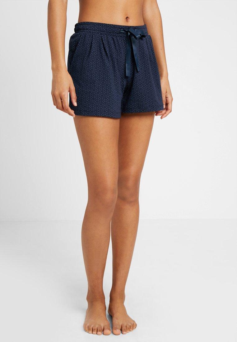 Schiesser - Nattøj bukser - nachtblau
