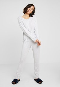 Schiesser - Pyjamasbukse - grau - 1