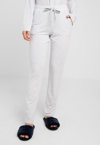 Schiesser - Pyjamasbukse - grau - 0