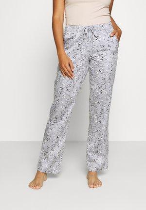 LANG - Pyjamasbukse - hellgrau