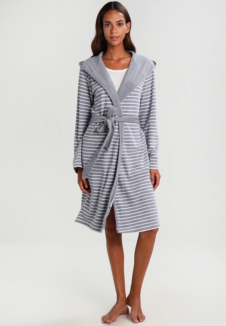 Schiesser - Dressing gown - hellgrau