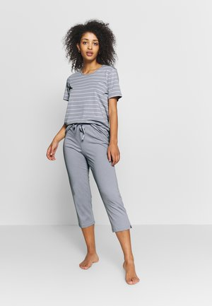 SET - Pyjama - hellgrau