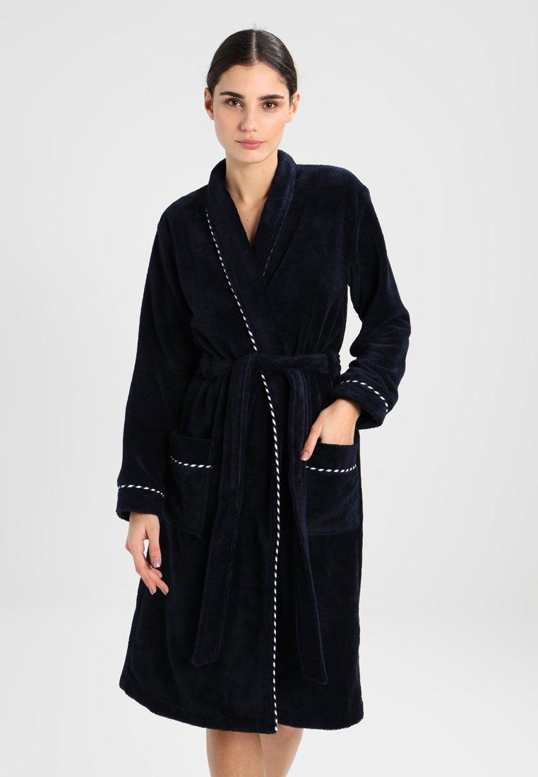 Schiesser - Dressing gown - nachtblau