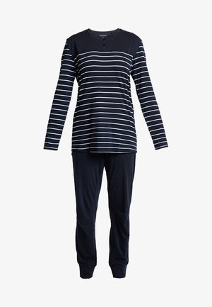 BASIC SET - Pyjama set - nachtblau