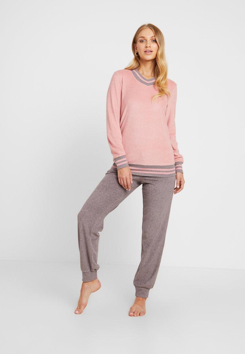 Schiesser - Pyjama set - rosenholz