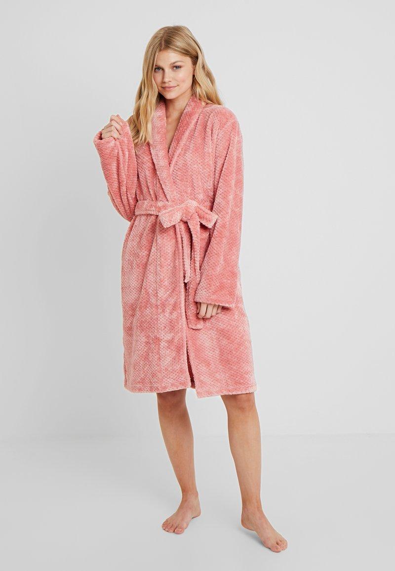 Schiesser - Dressing gown - rosenholz