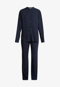 Schiesser - LANG - Pyjama - nachtblau - 5