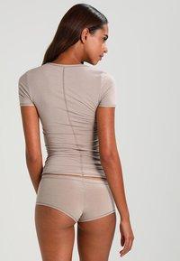 Schiesser - Camiseta interior - braun - 2