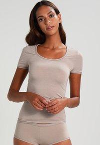 Schiesser - Camiseta interior - braun - 0