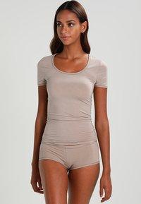 Schiesser - Camiseta interior - braun - 1