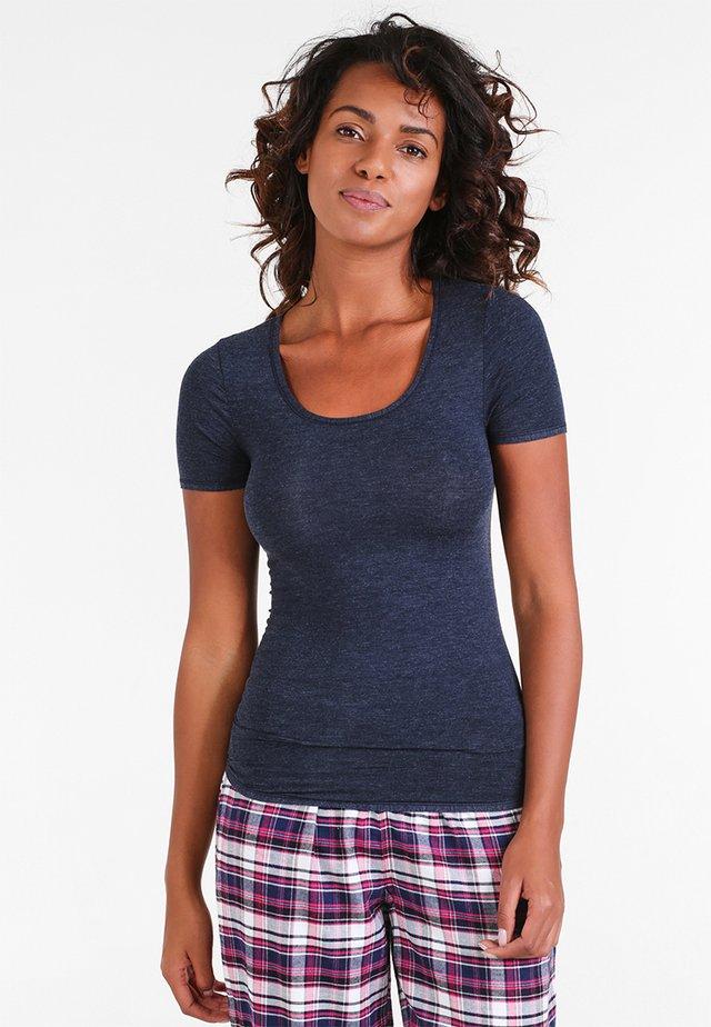 Camiseta interior - nachtblau