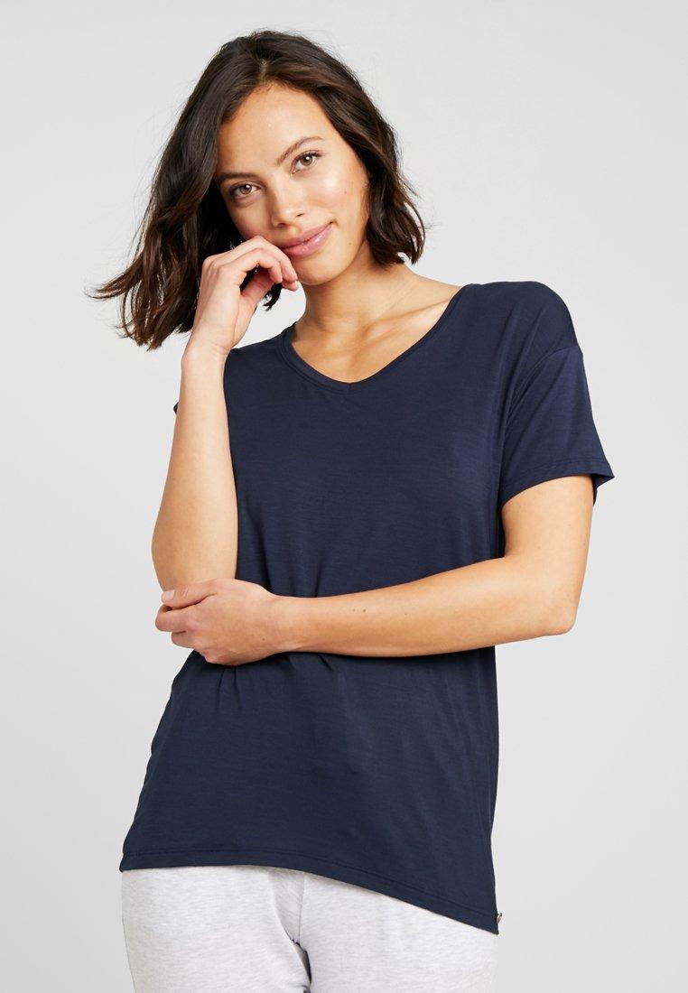 Schiesser - SHIRT 1/2 ARM - Pyjamashirt - nachtblau