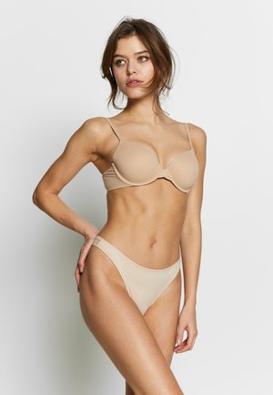 INVISIBLE 2 PACK - String - nude