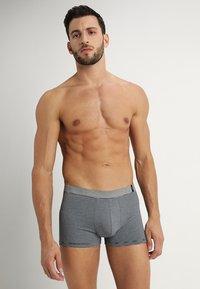 Schiesser - 2 PACK - Pants - mottled grey/black - 3