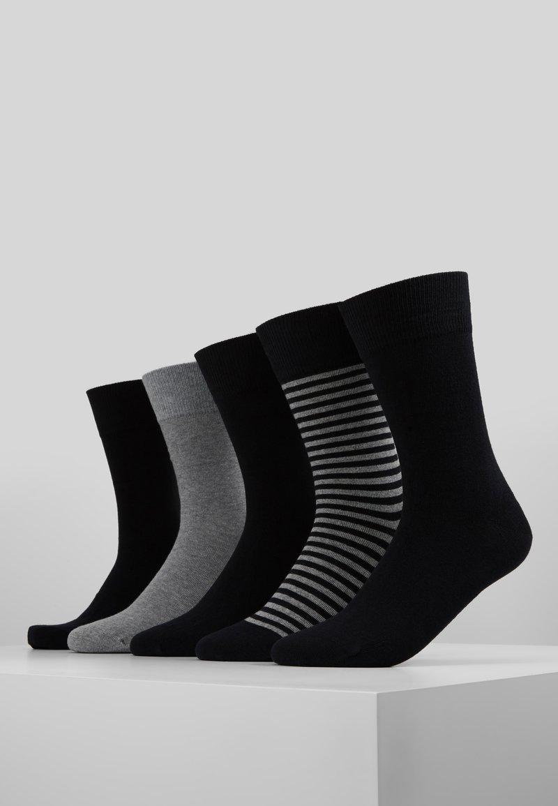 Schiesser - FIT 5PACK - Strumpor - grey