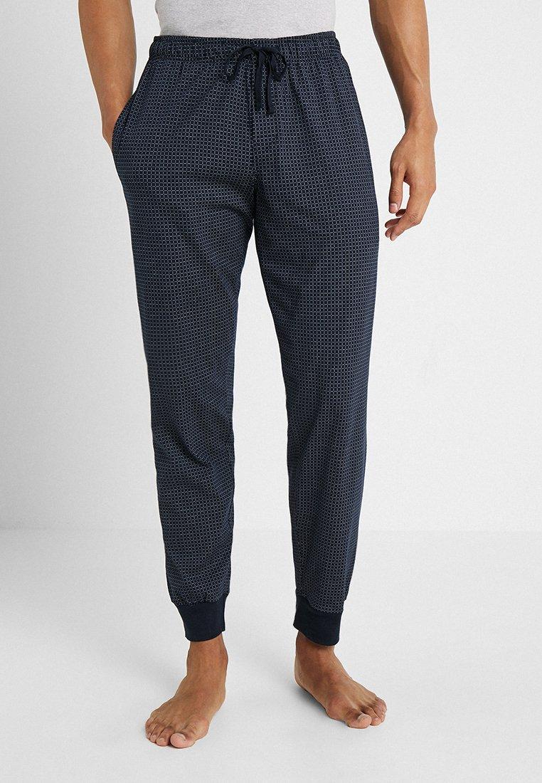 Schiesser - BASIC - Nattøj bukser - dark blue
