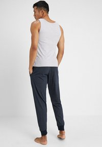 Schiesser - BASIC - Pyjamasbyxor - dark blue - 2