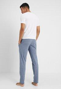 Schiesser - BASIC - Pyjama bottoms - dark blue melange - 2