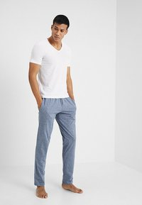 Schiesser - BASIC - Pyjama bottoms - dark blue melange - 1