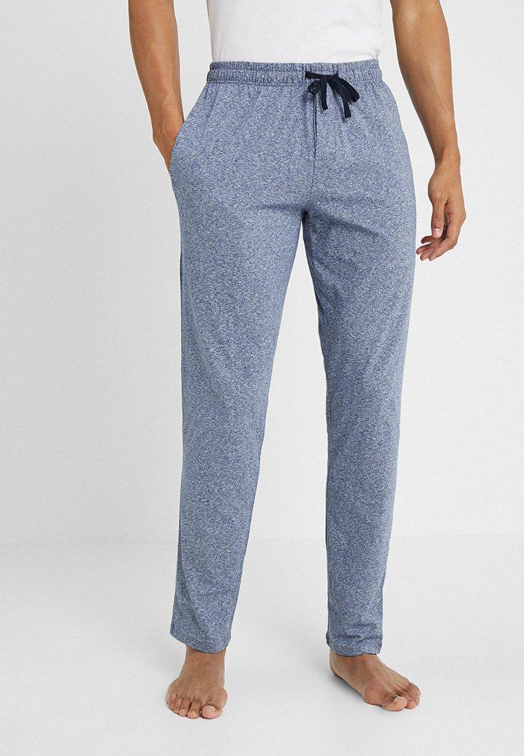 Schiesser - BASIC - Pyjama bottoms - dark blue melange