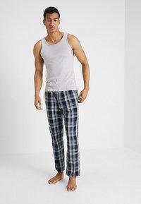Schiesser - BASIC - Pantalón de pijama - dark blue - 1
