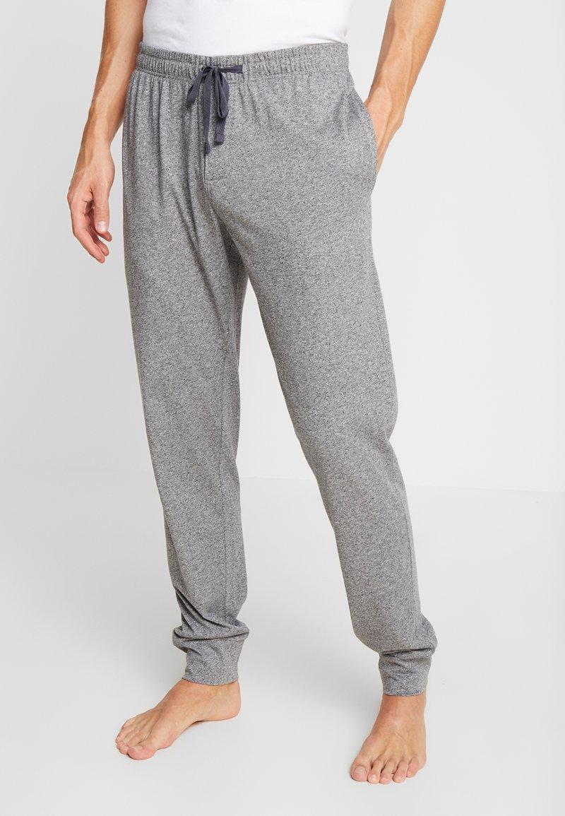 Schiesser - BASIC - Pyjama bottoms - mottled dark grey