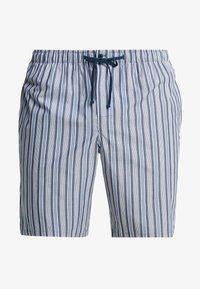 Schiesser - LONG BOXER - Pyjamabroek - blue - 3