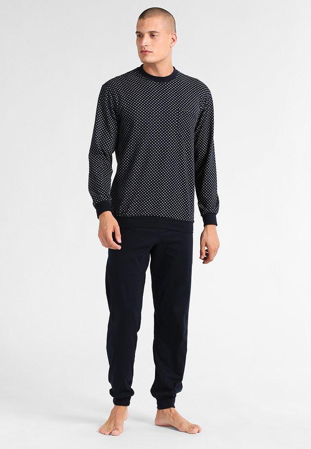 LANG SET - Pyjama - dunkelblau
