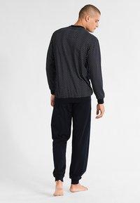 Schiesser - LANG SET - Pijama - dunkelblau - 2
