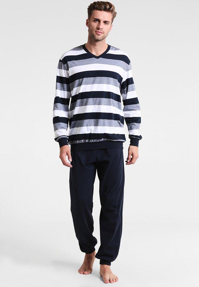 LANG SET - Pyjamas - dunkelblau