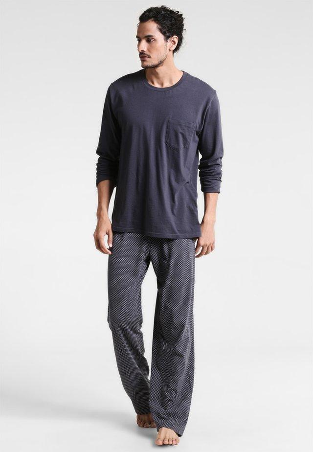 ANZUG LANG SET - Pyžamová sada - anthrazit