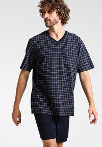 Schiesser - SET - Pyjama - dunkelblau - 0