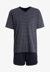 Schiesser - SET - Pyjama - dunkelblau - 5