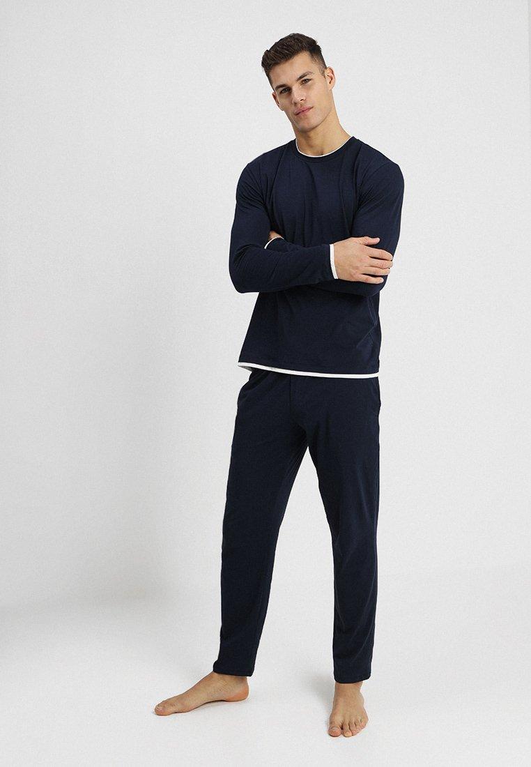 Schiesser - SLEEP AND LOUNGE - Pyjama - dunkelblau