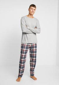 Schiesser - Pijama - grau melange - 0