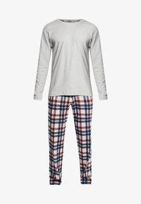 Schiesser - Pijama - grau melange - 4