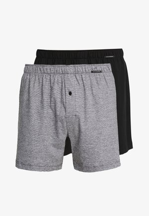 2 PACK - Boxershort - black/grey