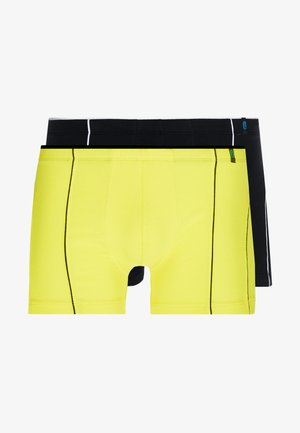 2 PACK - Onderbroeken - yellow/black