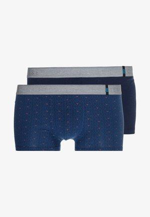 SHORTS 2 PACK - Onderbroeken - dark blue