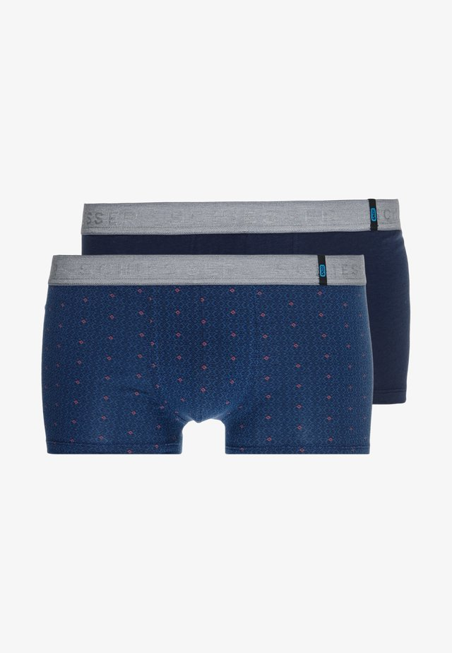 SHORTS 2 PACK - Pants - dark blue