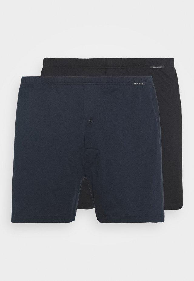 2 PACK  - Boxershort - black/dark blue
