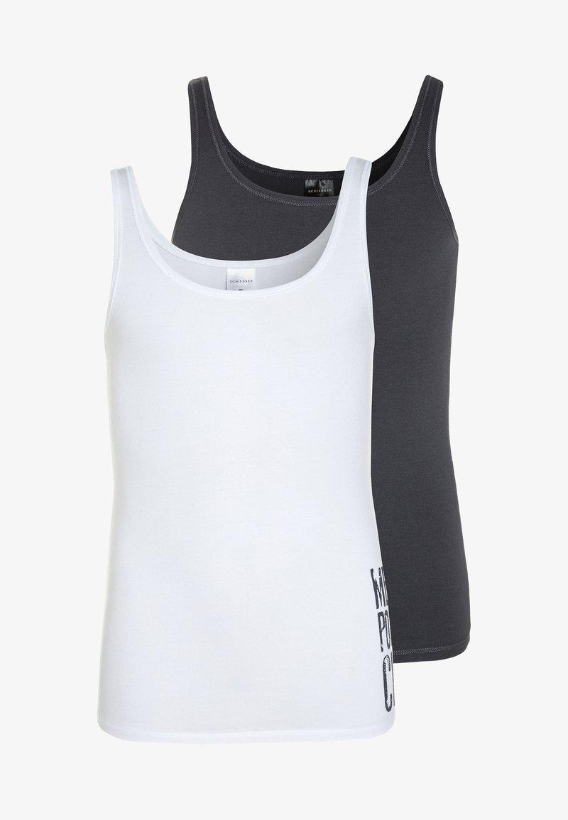 Schiesser - 2 PACK - Unterhemd/-shirt - white