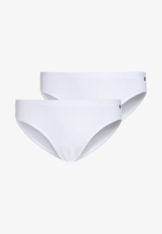 SLIPS BASIC 2 PACK - Slip - weiß
