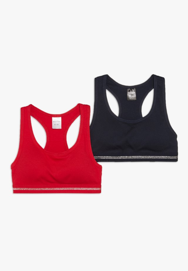 2 PACK - Topp - blue/red