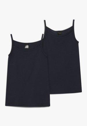 TEENS 2 PACK - Undershirt - nachtblau